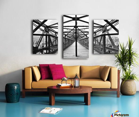 The Bridge - Spain Canvas print
