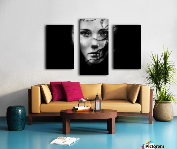 Shade Canvas print