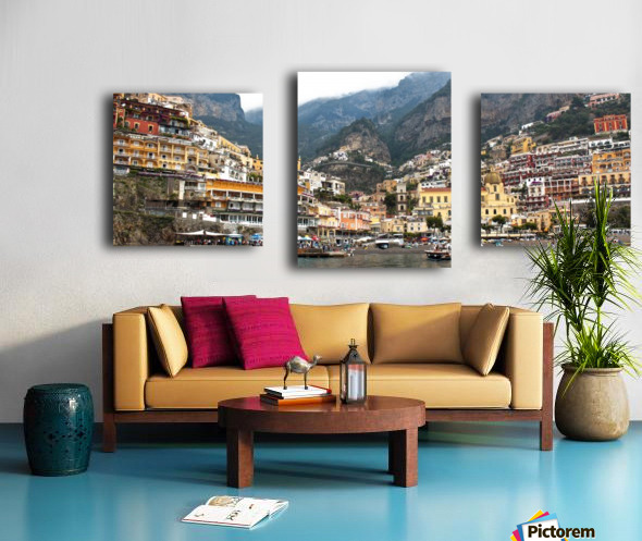 Artistic Panoramic Landscape Canvas print