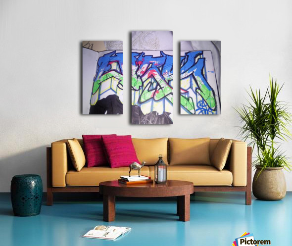 15175427852971446813630 Canvas print
