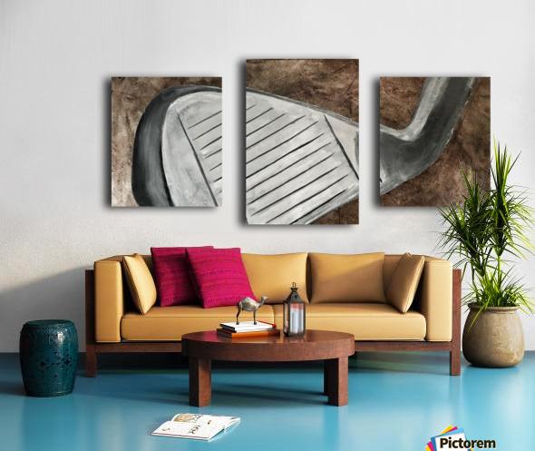 Golf Nouveau I Canvas print