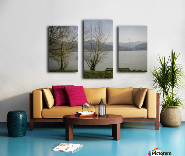 Spring at the River  Canvas print