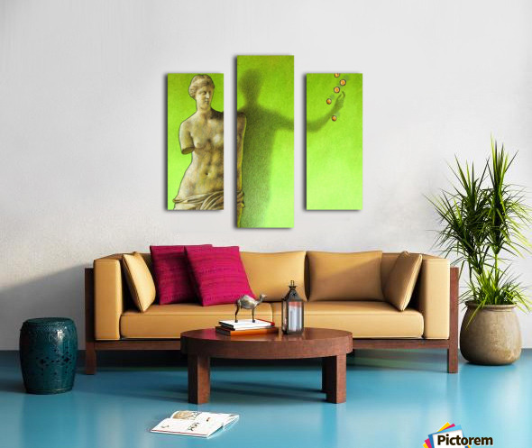 Grece Canvas print