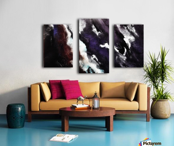 Odyssey Abstract Artwork Canvas print