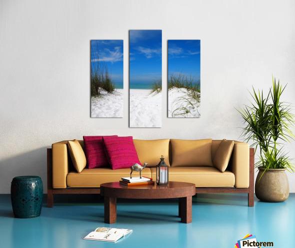 Coquina Dunes Canvas print