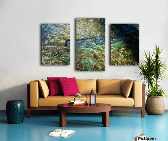 Lake Crystal Canvas print