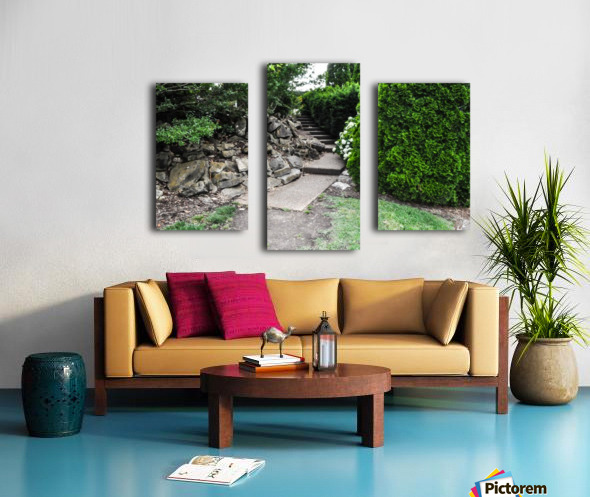 Enchanted Walkway Canvas print