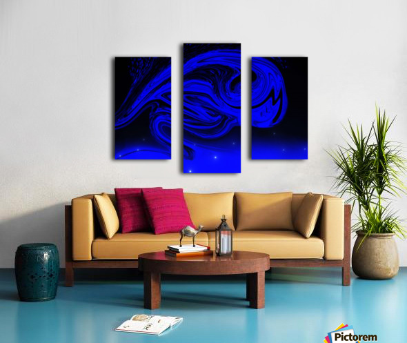 Wave Of Destraction Canvas print