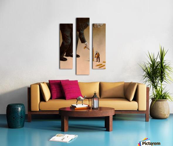 Cane Canvas print