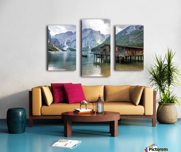 Lake of Braies Canvas print