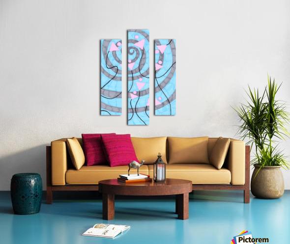 pinycocktaildaze. Canvas print