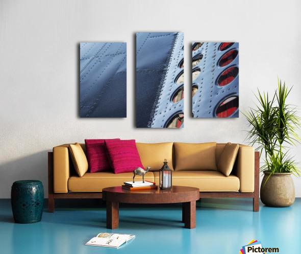 Flap Canvas print