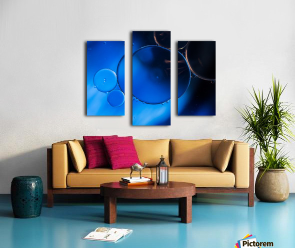 In Vitro Canvas print