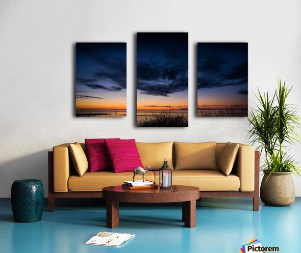 Blue Cloud - Nuage Bleu Canvas print