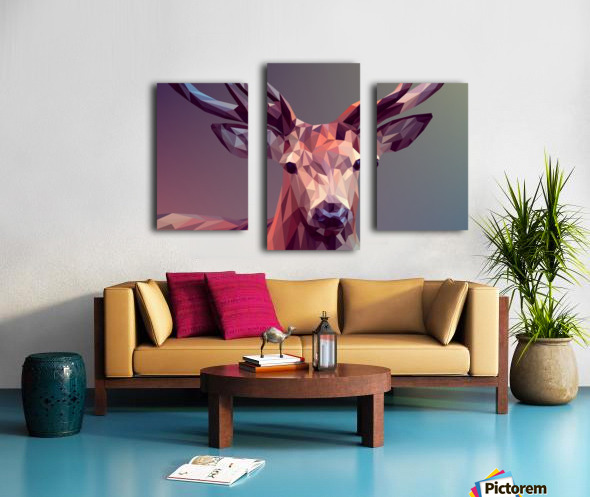 polycerf Canvas print