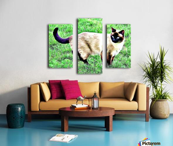 CAT3 Canvas print