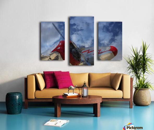 lockheadmodel18 Canvas print