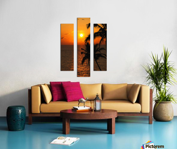 Unknown Paradise Canvas print