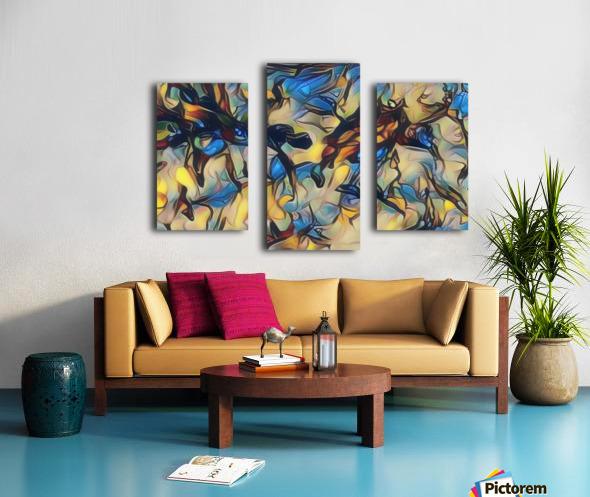 gubug Canvas print