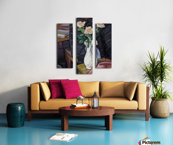 Three Roses Canvas print