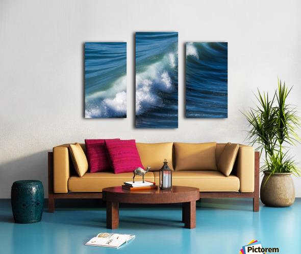Wave of Changes - Vague de Changements Canvas print