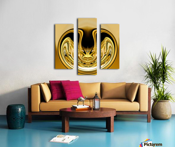 GoldTone1 Canvas print