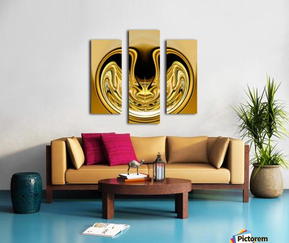 GoldTone1 Impression sur toile