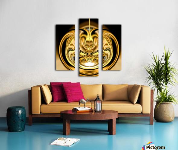 GoldTone2 Canvas print