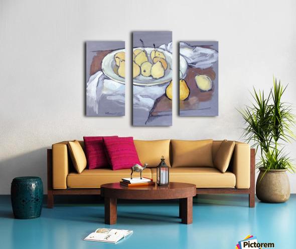 Pears-2 Canvas print