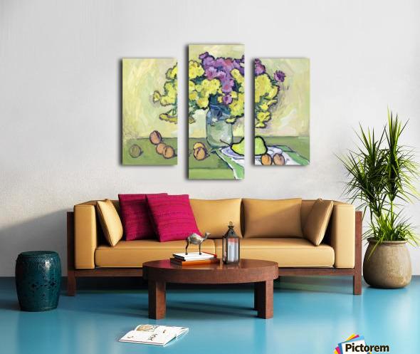 Chryzantemums Canvas print