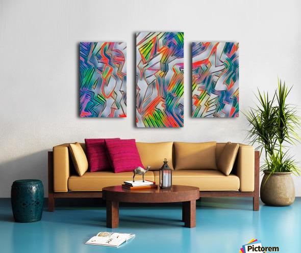nyrneon Canvas print