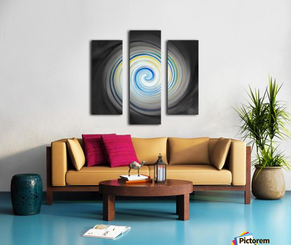 circling Impression sur toile