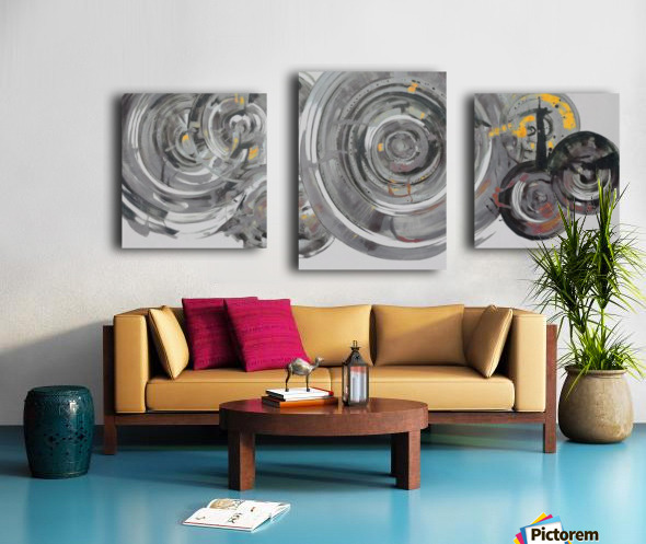 Helical Canvas print
