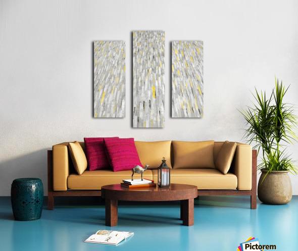 Rain of light Canvas print