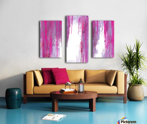 Rainning Impression sur toile