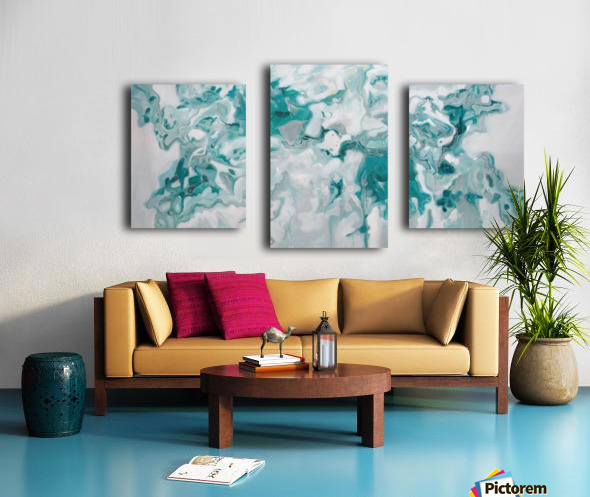 Arctic Canvas print