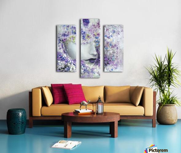 femme Canvas print
