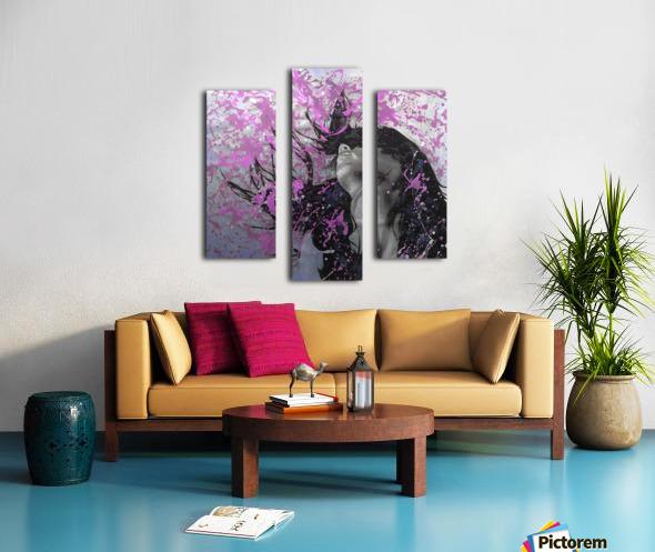 Beat Canvas print