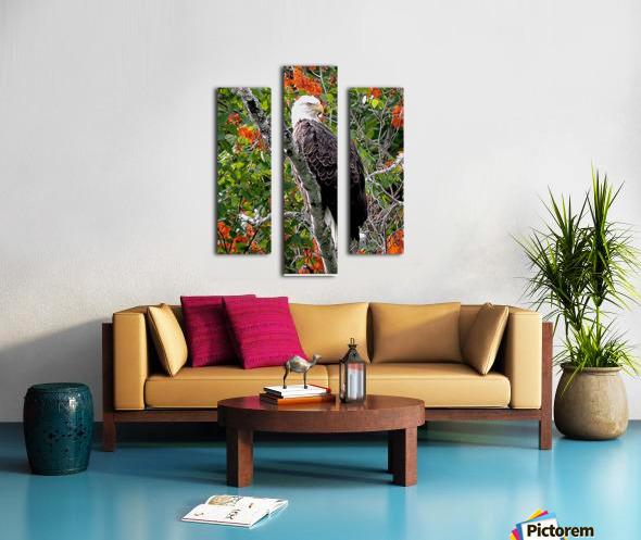 AutumnEagle Canvas print