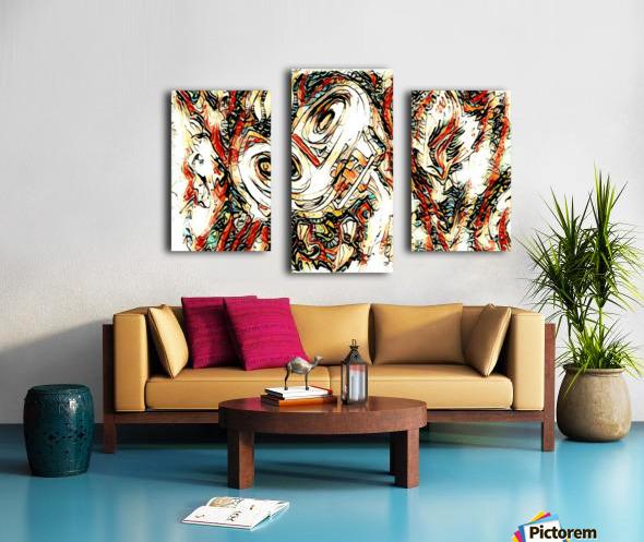 vafle Canvas print