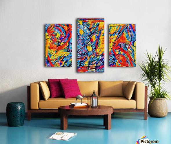 yereye Canvas print