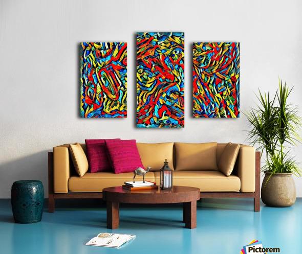 buzqke  Canvas print