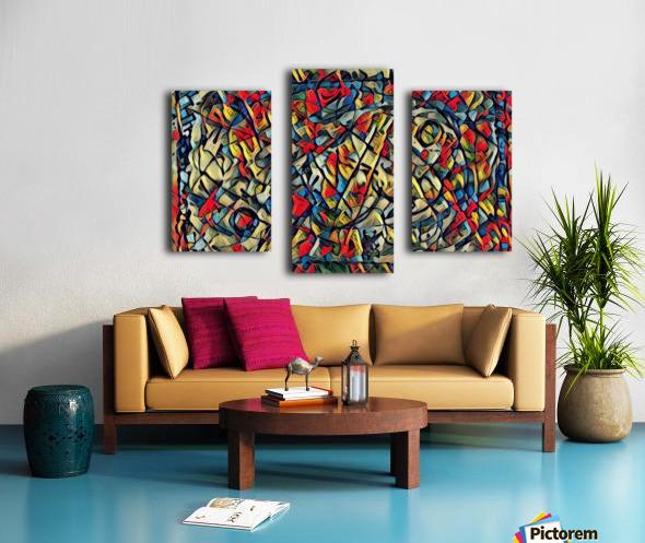trison Canvas print