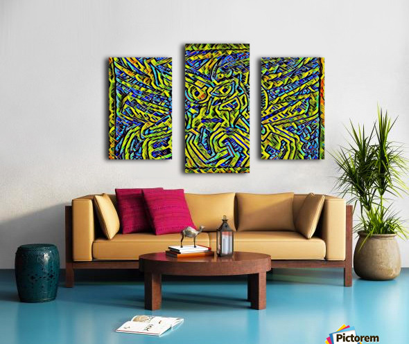 yilu  Canvas print