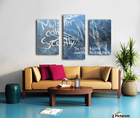 ChemTrails Canvas print
