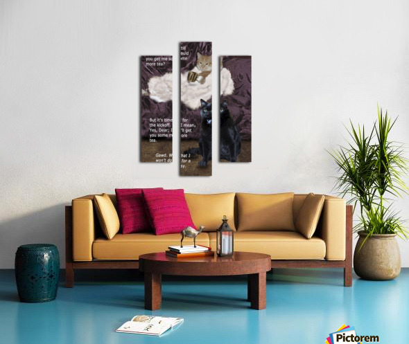 LittlePussy Canvas print