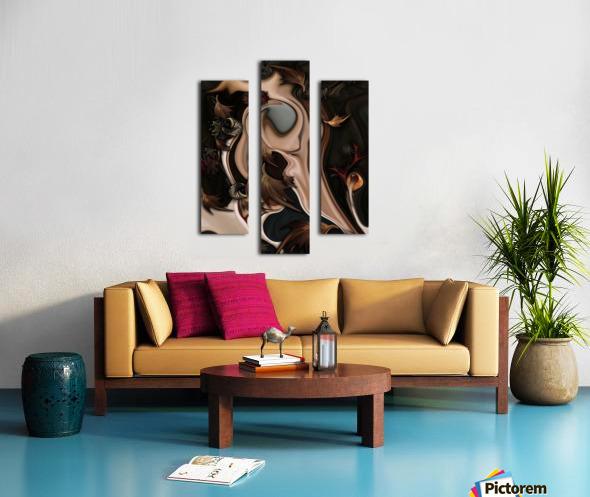Autumnal Material Canvas print