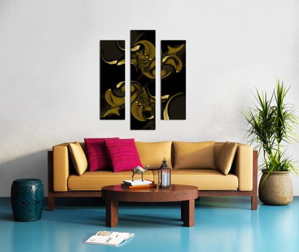 Undefined Compilation - Vegetable Canvas print