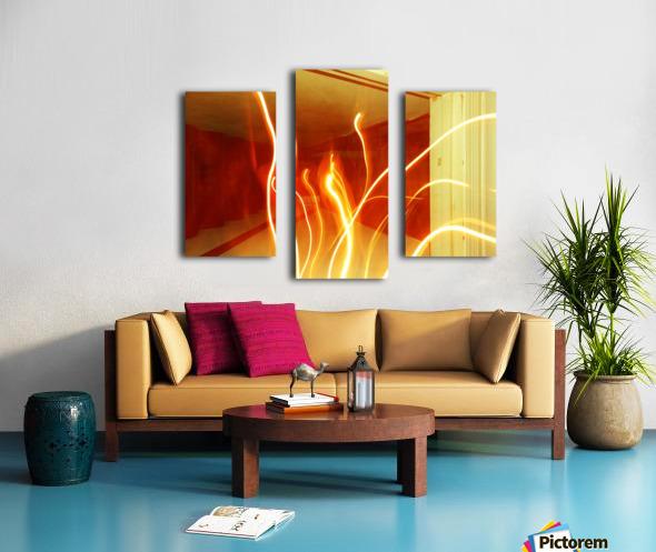 B (7) Impression sur toile