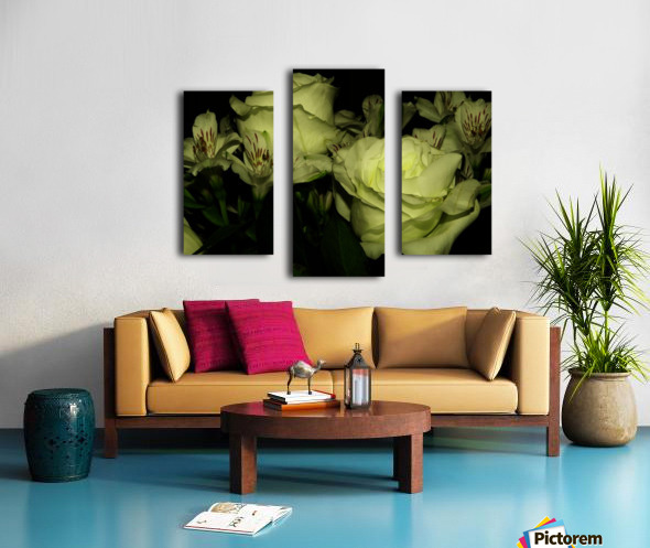 D (3) Canvas print